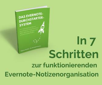 Evernote richtig organisieren - Kompaktkurs online